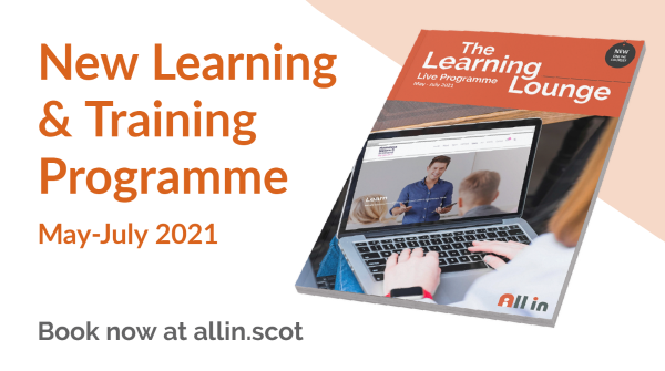 Bookings now open for our Learning Lounge for May to July 2021